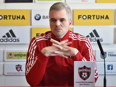 Športový riaditeľ Spartaka Andrej Kostolanský