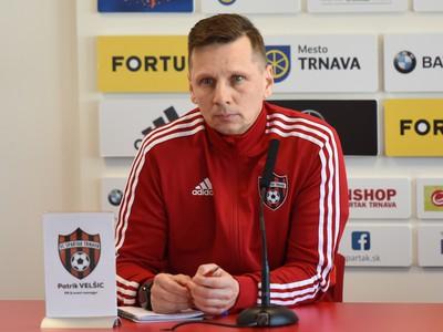 PR manažér Spartaka Patrik Velšic