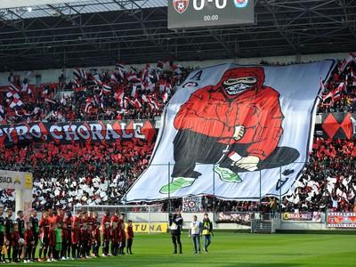Fanúšikovia Spartaka Trnava