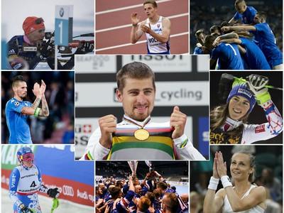 Najväčšie úspechy slovenských športovcov v roku 2017