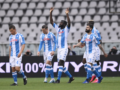 Radosť futbalistov SSC Neapol