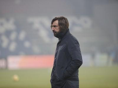 Tréner Juventusu Andrea Pirlo
