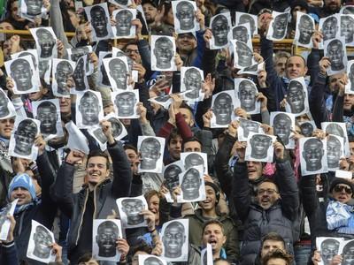 Protest fanúšikov Neapola proti