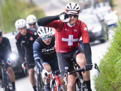 Stefan Küng v tretej etape Tour de Romandie