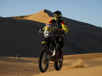 Štefan Svitko na Rely Dakar