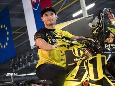 Štefan Svitko na motocykli