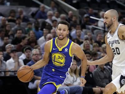 Hráč Warriors Stephen Curry