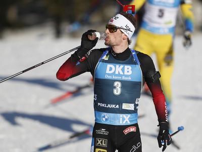 Nórsky biatlonista Sturla