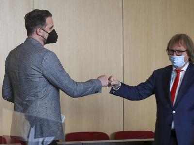 Christoph Metzelder a jeho právnik Ulrich Sommer