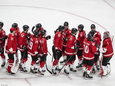 Kanada oslavuje svoje víťazstvo
