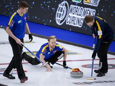 Na snímke reprezentanti Švédska