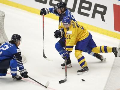 Momentka zo zápasu Švédsko