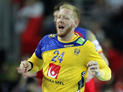 Švédsky hádzanár Jim Gottfridsson