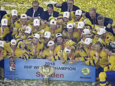 Hokejisti Švédska si vybojovali