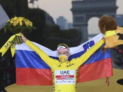 Tadej Pogačar víťazom Tour de France 2020