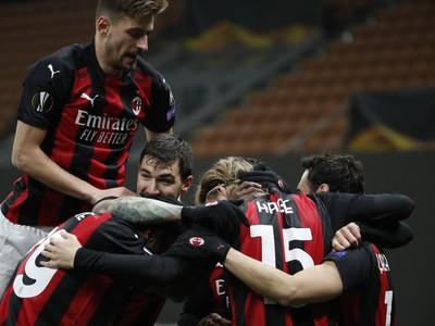 Futbalisti AC Milána sa