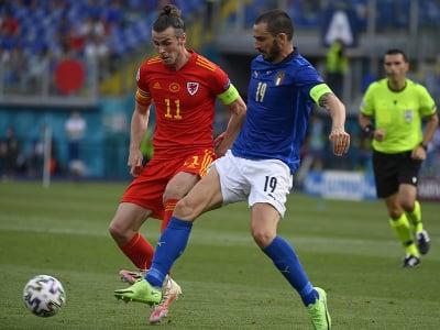 Gareth Bale v súboji