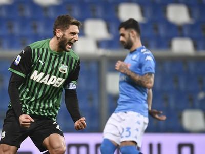 Domenico Berardi a jeho gólové oslavy