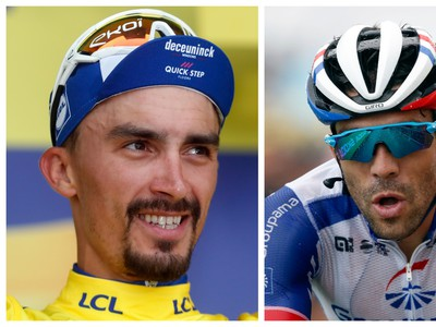 Julian Alaphilippe a Thibaut
