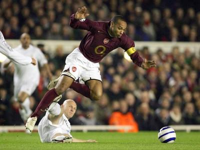 Thierry Henry v hviezdnych časoch Arsenalu