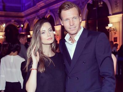 Tomáš Berdych a manželka