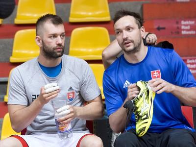 Na snímke slovenskí reprezentanti