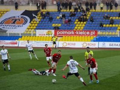 Zápas v bieloruskej lige