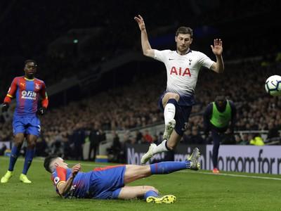 Hráč Tottenhamu Ben Davies