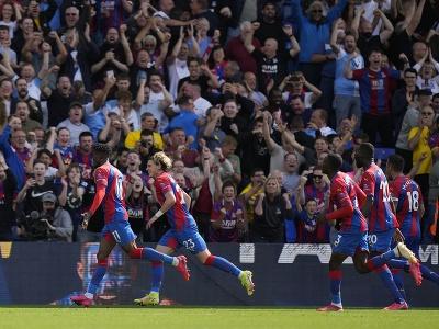 Radosť hráčov Crystal Palace