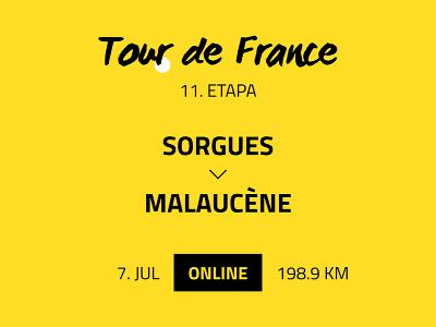 11. etapa Tour de