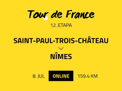12. etapa Tour de