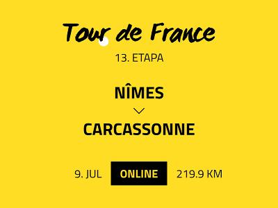 13. etapa Tour de