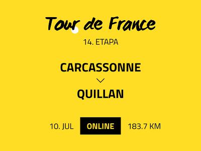 14. etapa Tour de
