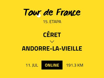 15. etapa Tour de