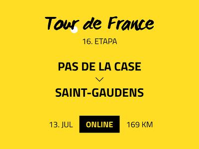 16. etapa Tour de