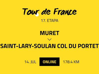 17. etapa Tour de