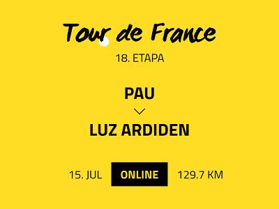 18. etapa Tour de