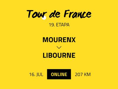 19. etapa Tour de