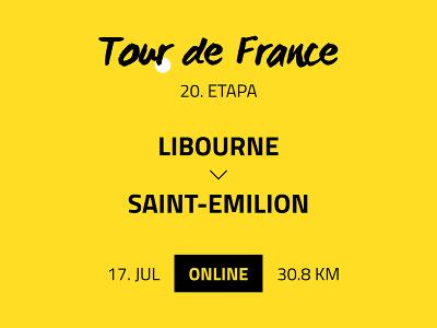 20. etapa Tour de