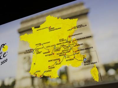 Plánová trasa Tour de