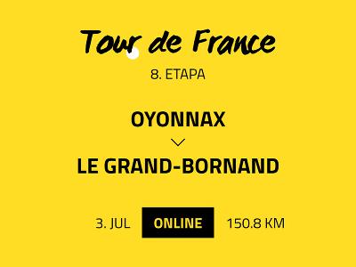 8. etapa Tour de