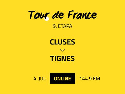 9. etapa Tour de
