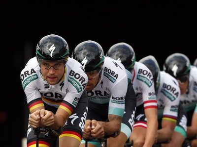 Cyklisti z Bora-Hansgrohe pred
