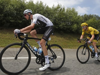 Chris Froome a Geraint