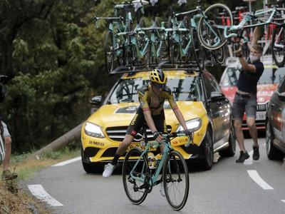 Novozélandský cyklista George Bennett