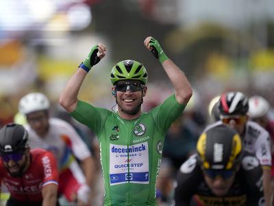 Mark Cavendish víťazom 10.