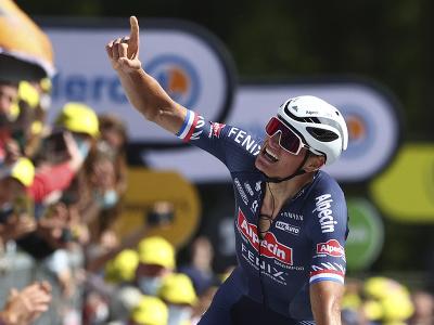 Holandský cyklista Mathieu van