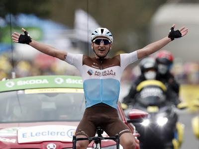 Francúzsky cyklista Nans Peters zvíťazil v sobotňajšej 8. etape Tour de France