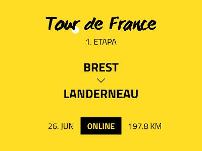 1. etapa Tour de