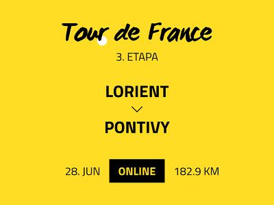 3. etapa Tour de